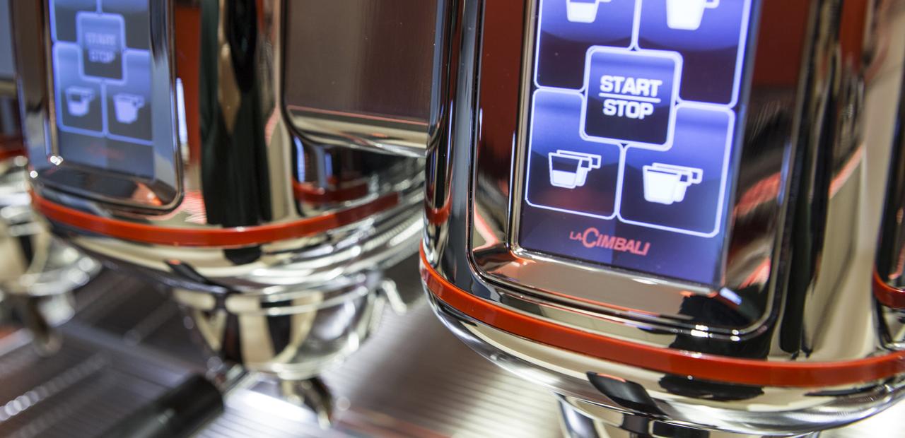 Professionelle Espresso und Cappuccinomaschinen  La Cimbali -> Kaffeemaschine Cimbali